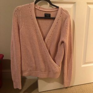 Abercrombie and Fitch pink sweater